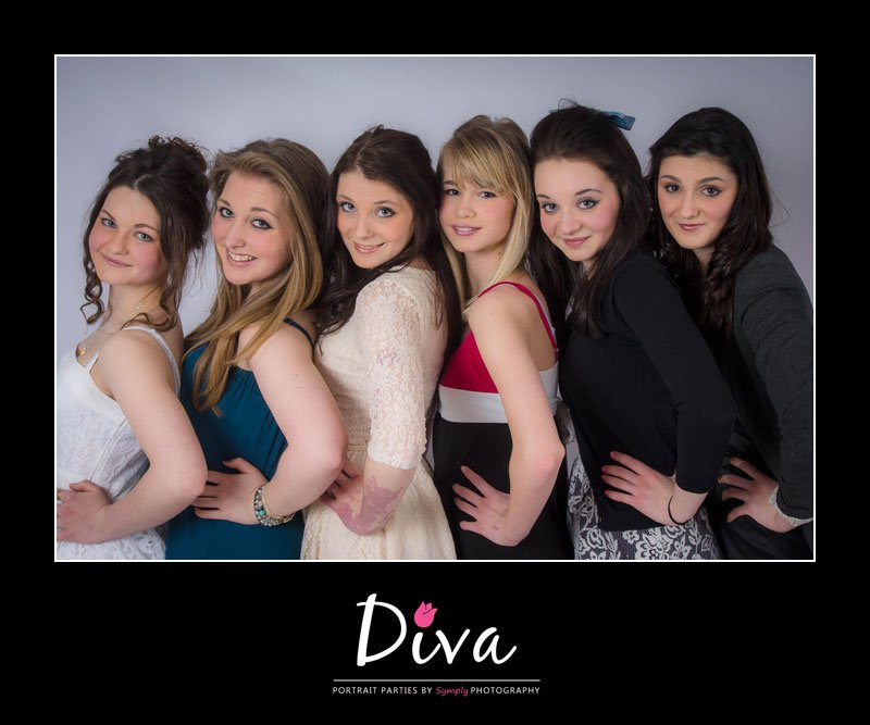 Super Sweet 16th Birthday Party Diva Portrait Parties