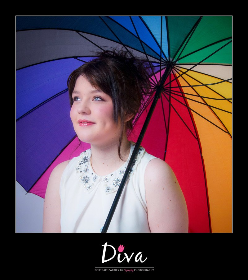 makeover parties and photoshoot for girls diva portrait parties